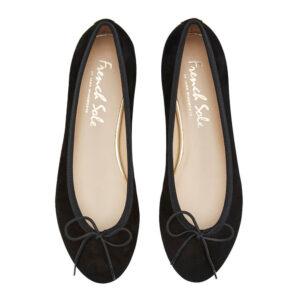 Image 3 for Amelie Black Nubuck Leather (AML358)