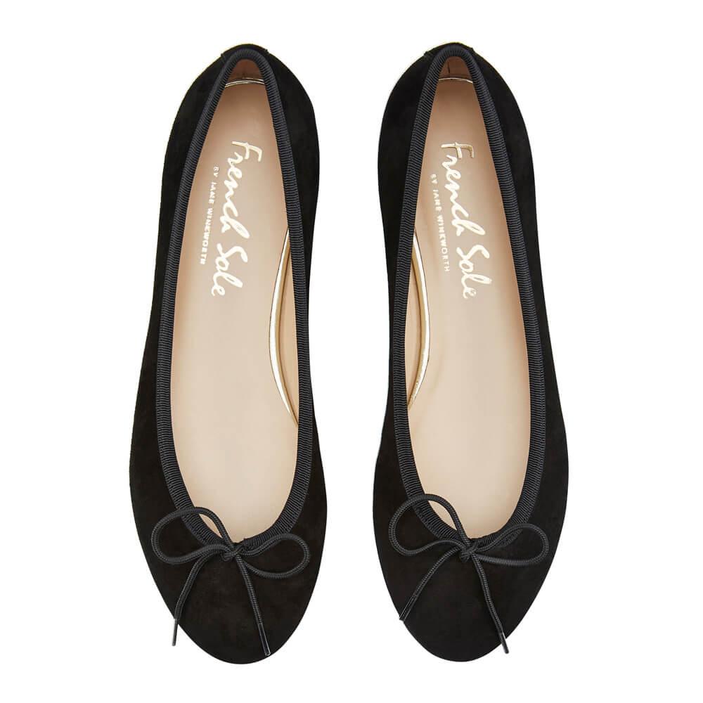 Amelie Black Nubuck Leather (AML358)