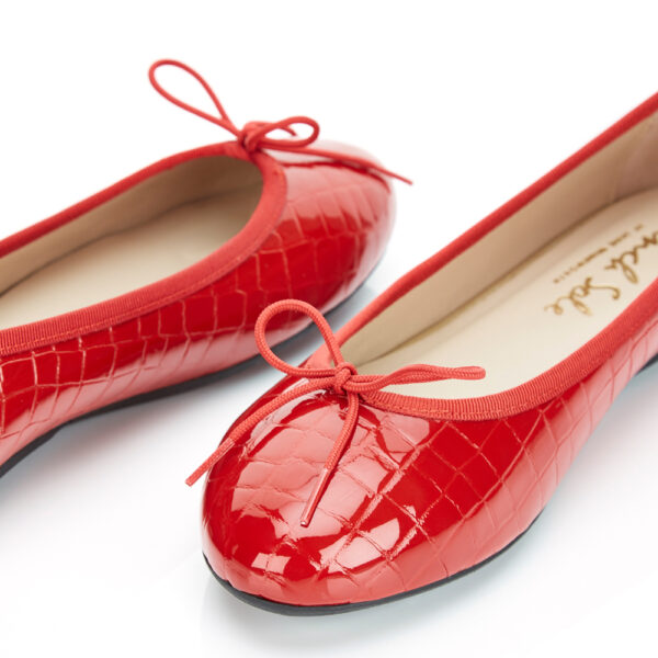 Image 2 for Amelie Red Patent Croc (AML786)