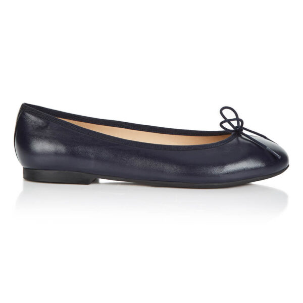 Image 1 for Amelie Navy Leather (AML918)
