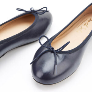 Image 2 for Amelie Navy Leather (AML918)