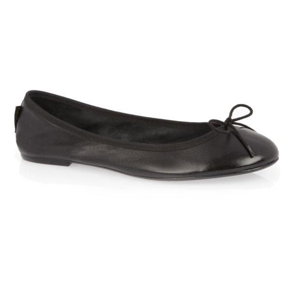 Image 1 for Classic Ballet Black Leather (BAB01)