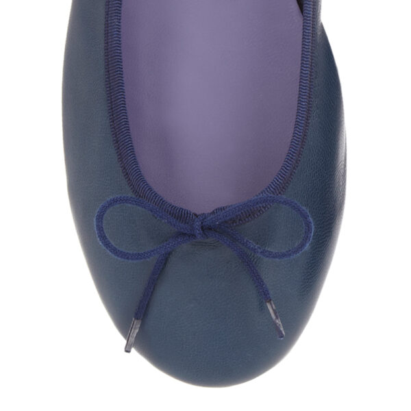 Image 2 for Classic Ballet Navy Leather (BAB02)