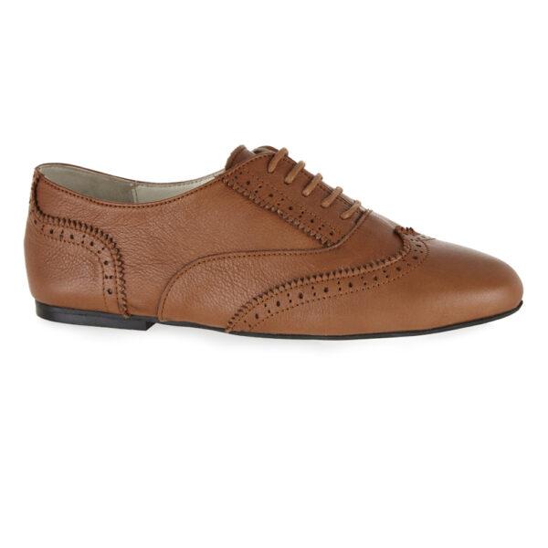 Image 1 for Brogues Tan Leather (BG08)