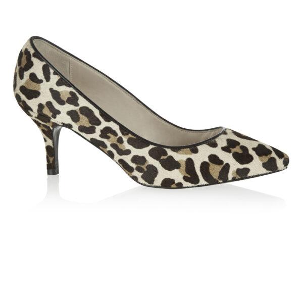 Image 1 for Brenda Heel Jaguar Calf Hair (BMH03)