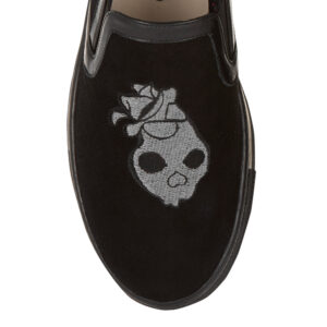 Image 2 for Board Walker Black Velvet Skull Embroidery (BW45)