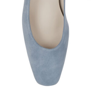 Image 2 for Carla Heel Pale Blue Suede (CAR01)