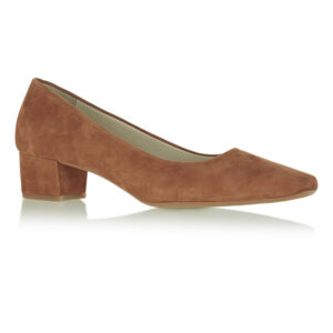 Image 1 for Carla Heel Tan Suede (CAR02)