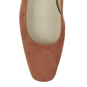 Image 2 for Carla Heel Tan Suede (CAR02)