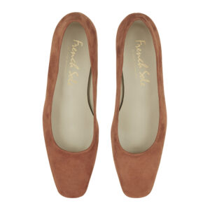 Image 3 for Carla Heel Tan Suede (CAR02)
