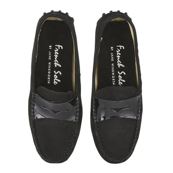 Image 3 for Driving Shoes Black Nubuck (DAL03)