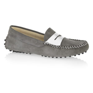 Image 1 for Driving Shoes Grey Nubuck (DAL06)