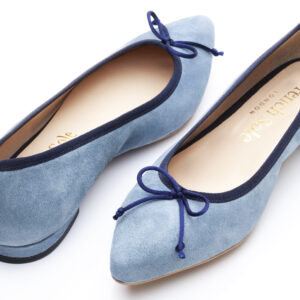 Image 2 for Penelope Sky Blue Kid Suede (EN018)
