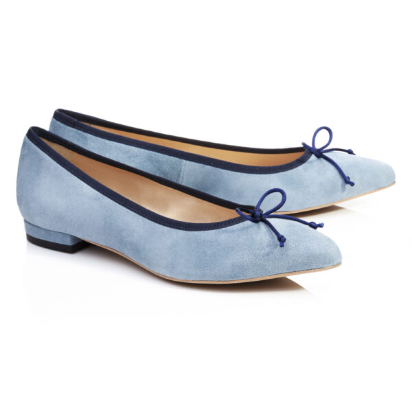 Image 4 for Penelope Sky Blue Kid Suede (EN018)