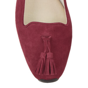Image 2 for Gabi Burgundy Suede (GABS16)