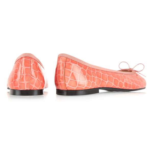 Image 4 for Henrietta Coral Patent Crocodile (HE1047)