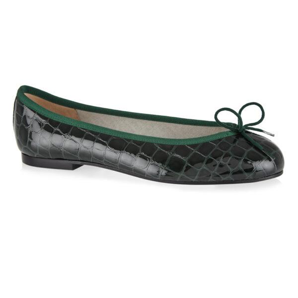 Image 1 for Henrietta Green Patent Crocodile (HE913)