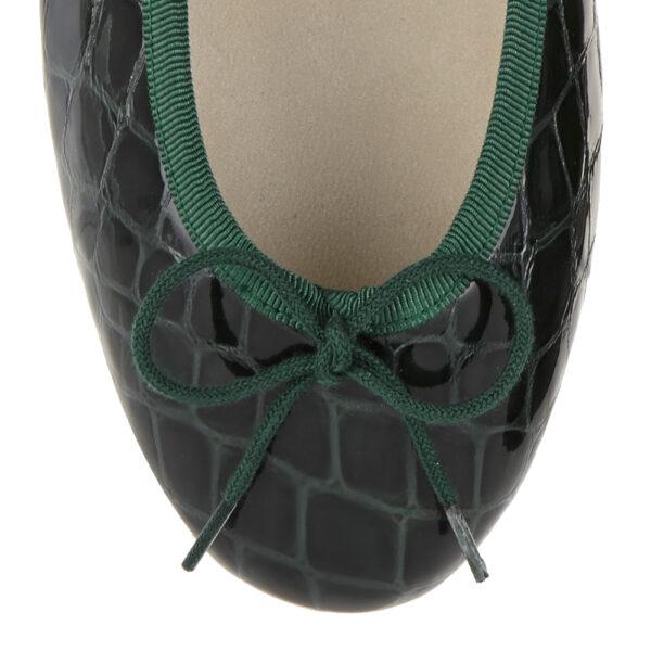 Image 2 for Henrietta Green Patent Crocodile (HE913)