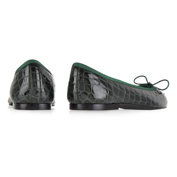 Image 4 for Henrietta Green Patent Crocodile (HE913)