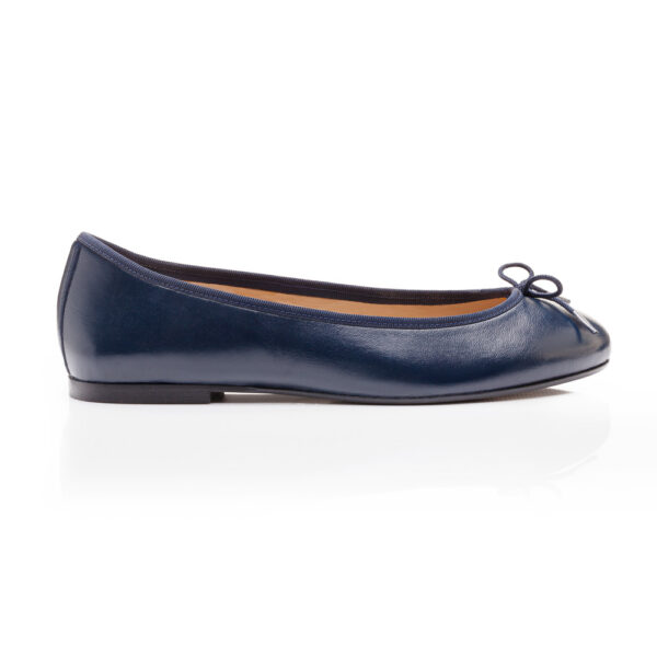 Image 1 for Henrietta Navy Leather (HE918)
