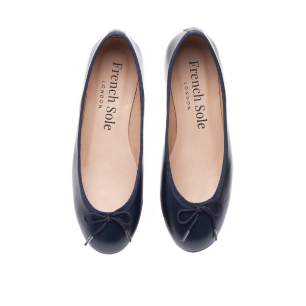 Image 3 for Henrietta Navy Leather (HE918)