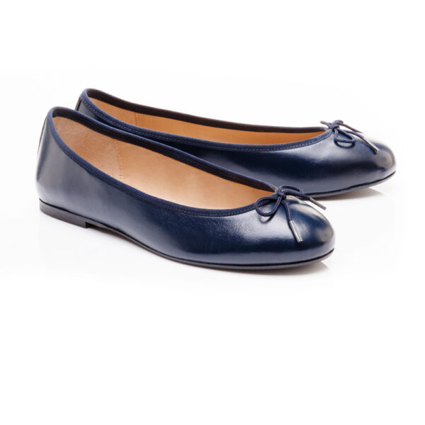 Image 4 for Henrietta Navy Leather (HE918)