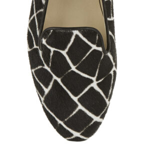 Image 2 for Hefner Black Giraffe Print Calf Hair (HFF134)