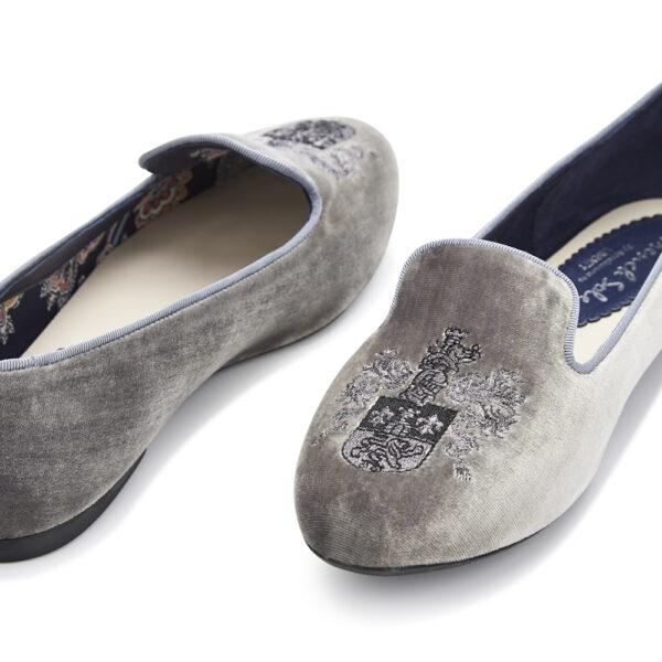 Image 2 for Hefner Grey Velvet (HFF135)