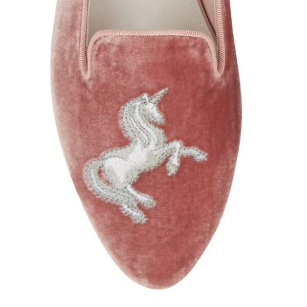 Image 2 for Hefner Pink Velvet Unicorn (HFF172)