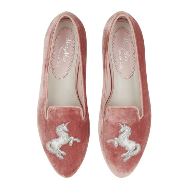 Image 3 for Hefner Pink Velvet Unicorn (HFF172)