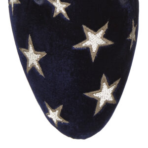 Image 2 for Hefner Navy Velvet (HFF61)