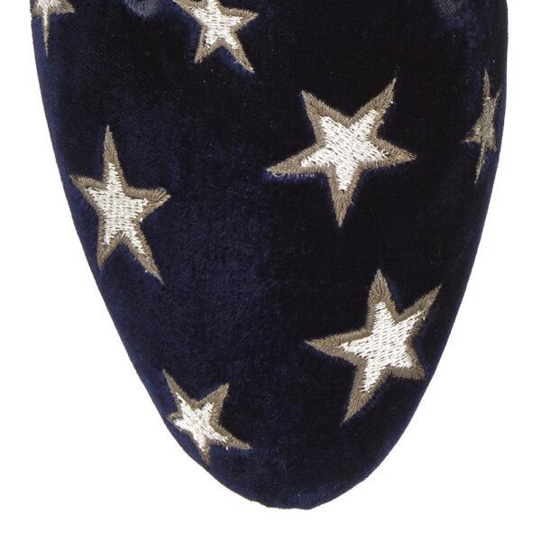 Image 2 for Hefner Navy Velvet (HFF61)