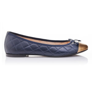 Image 1 for Lola Navy Quilted Leather (LAQ07)