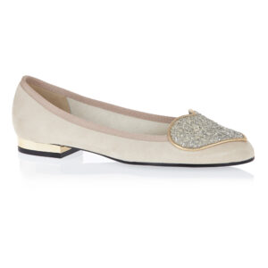 Image 1 for Love Heart Nude Suede (LH18)