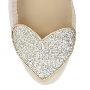 Image 2 for Love Heart Nude Suede (LH18)