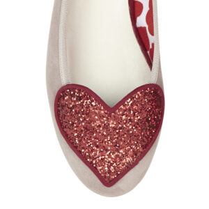 Image 2 for Love Heart Nude Suede (LH55)