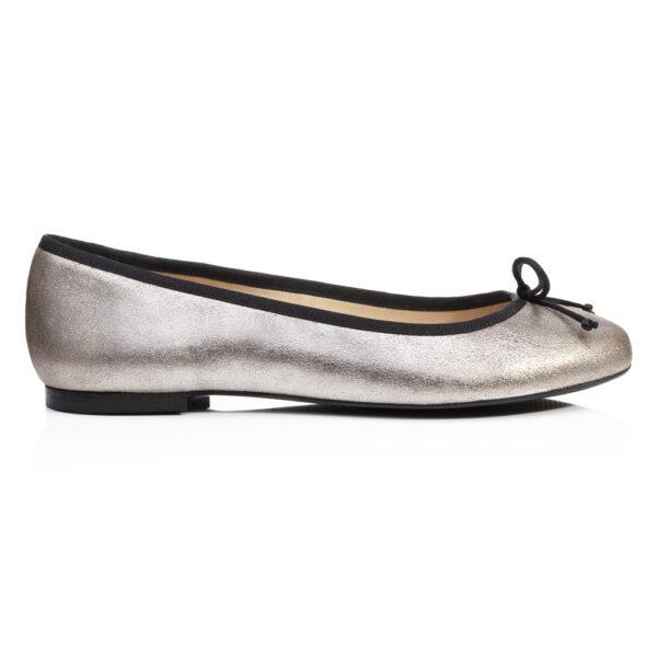Image 1 for Lola Grey Metallic Leather (LOL27)