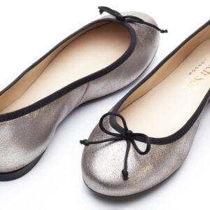 Image 2 for Lola Grey Metallic Leather (LOL27)