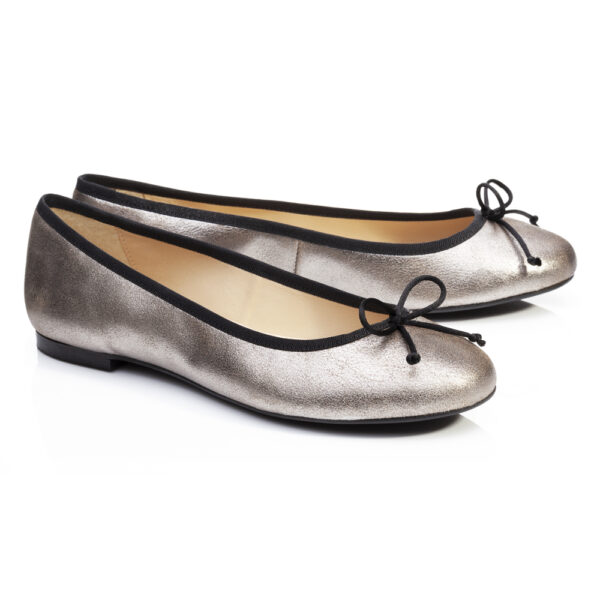 Image 4 for Lola Grey Metallic Leather (LOL27)