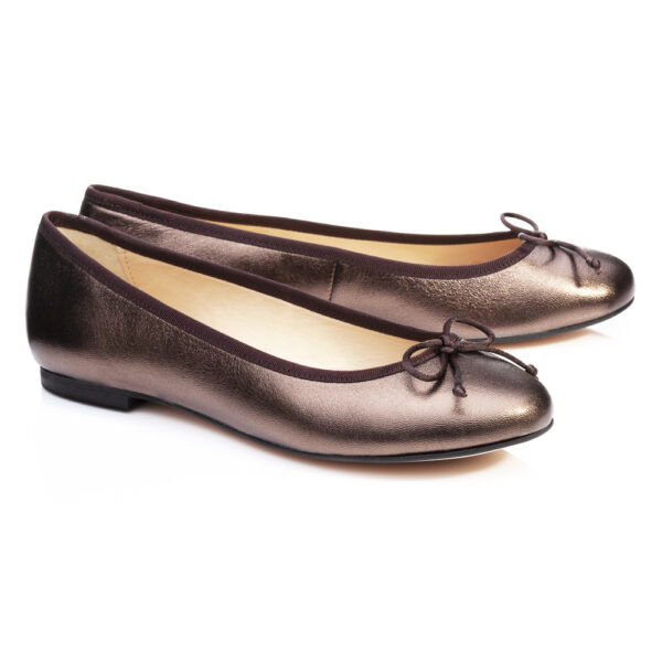 Image 4 for Lola Bronze Metallic Leather (LOL28)