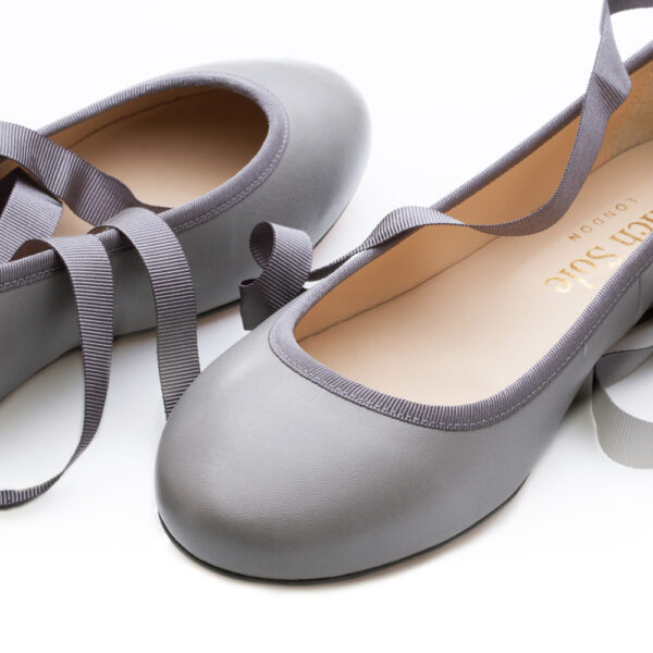 Image 3 for Margot Grey Quilted Leather (MGT03)