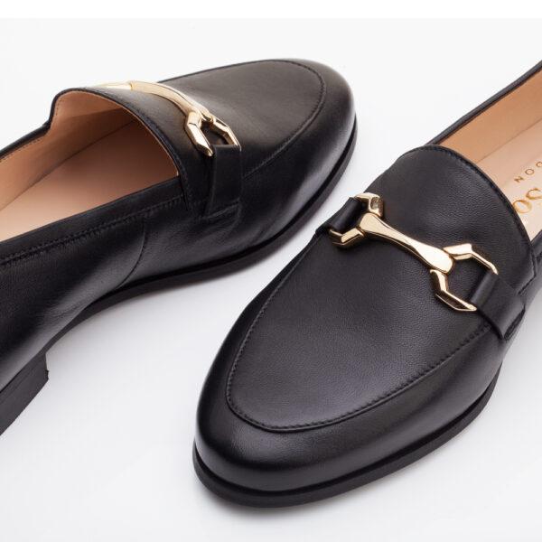 Image 3 for Marion Black Leather (MRN01)