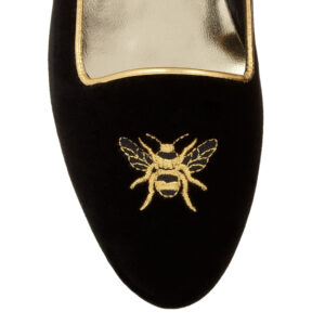 Image 2 for Opera Slipper Black Velvet (OPR06)