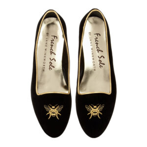 Image 3 for Opera Slipper Black Velvet (OPR06)