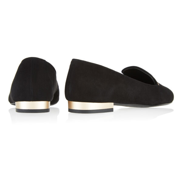 Image 4 for Opera Slipper Black Suede (OPR15)