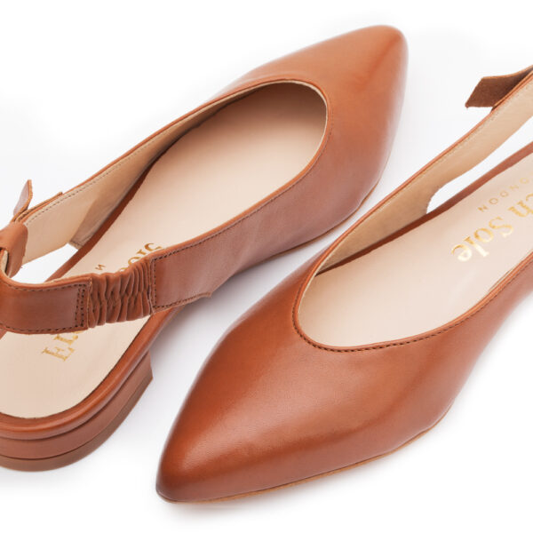 Image 3 for Penelope Mule Tan Leather (PM01)