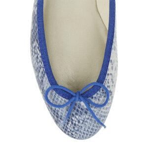 Image 2 for India Cobalt Snake Leather (PT706)
