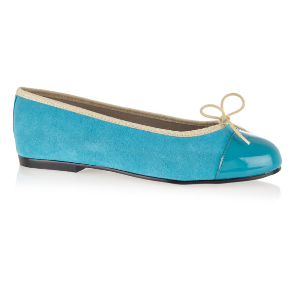 Image 1 for Simple Turquoise Nubuck (SM563)