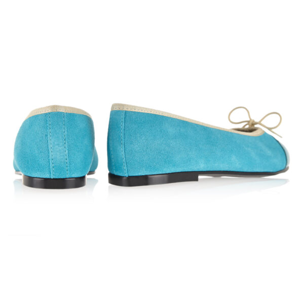 Image 4 for Simple Turquoise Nubuck (SM563)