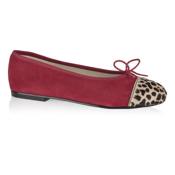 Image 1 for Simple Red Suede (SM575)